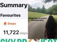 1000 Steps for Justice